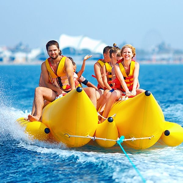 Hop Into The Bumpy Waves With Banana Boat Ride in Goa