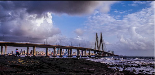 Bandra-Worli Sea Link which connects Bandra to Worli is one of the most beautiful man-made wonders in Mumbai.