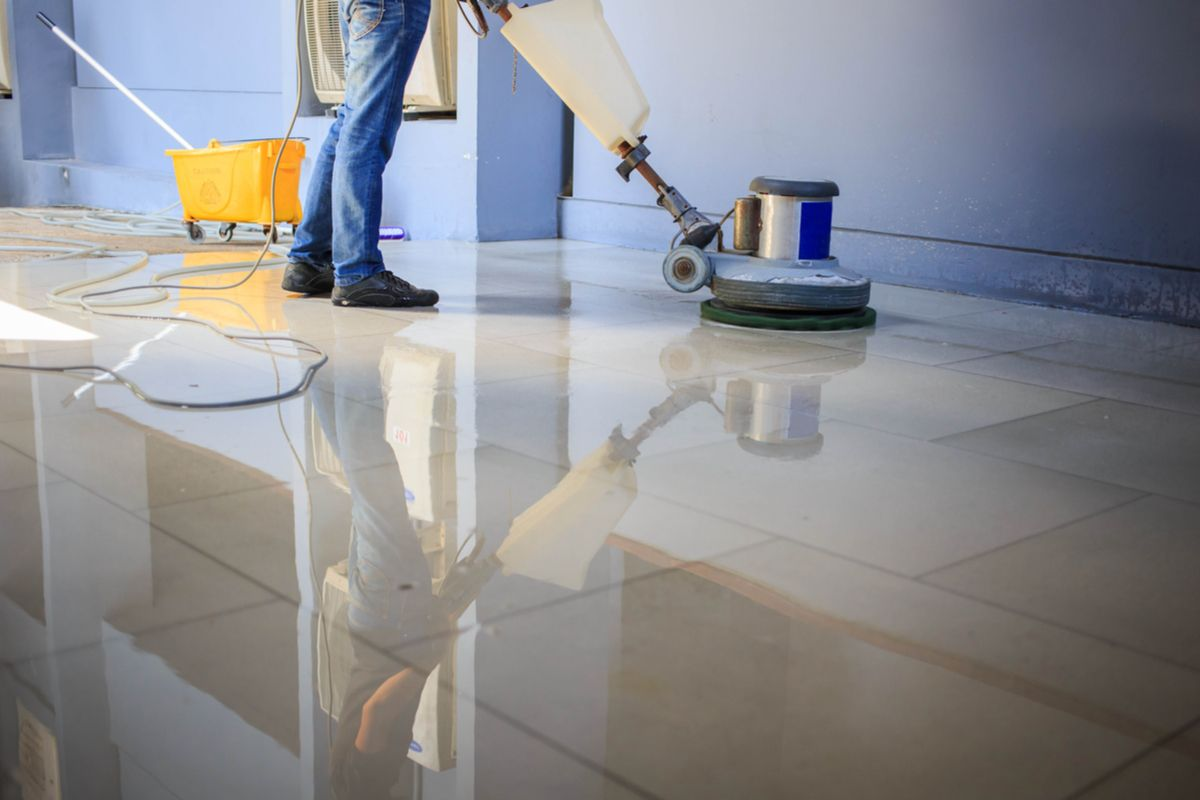 What are the benefits of tile cleaning?