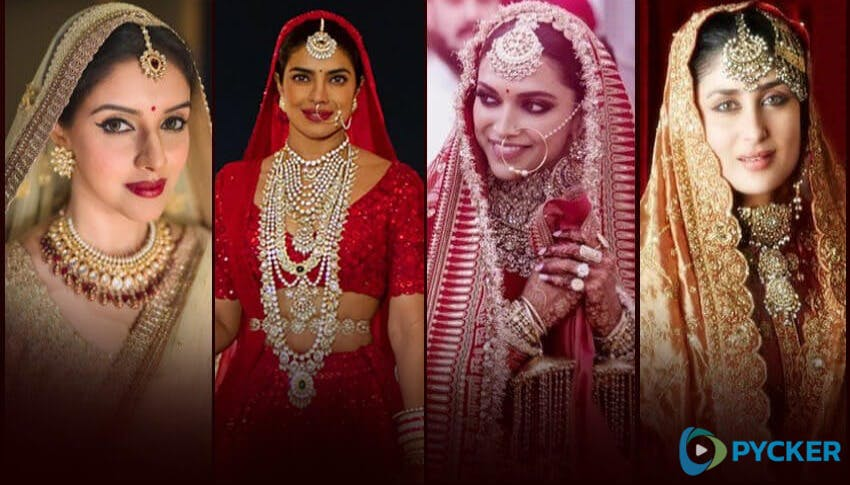 Expensive Wedding Dress Of Bollywood actresses