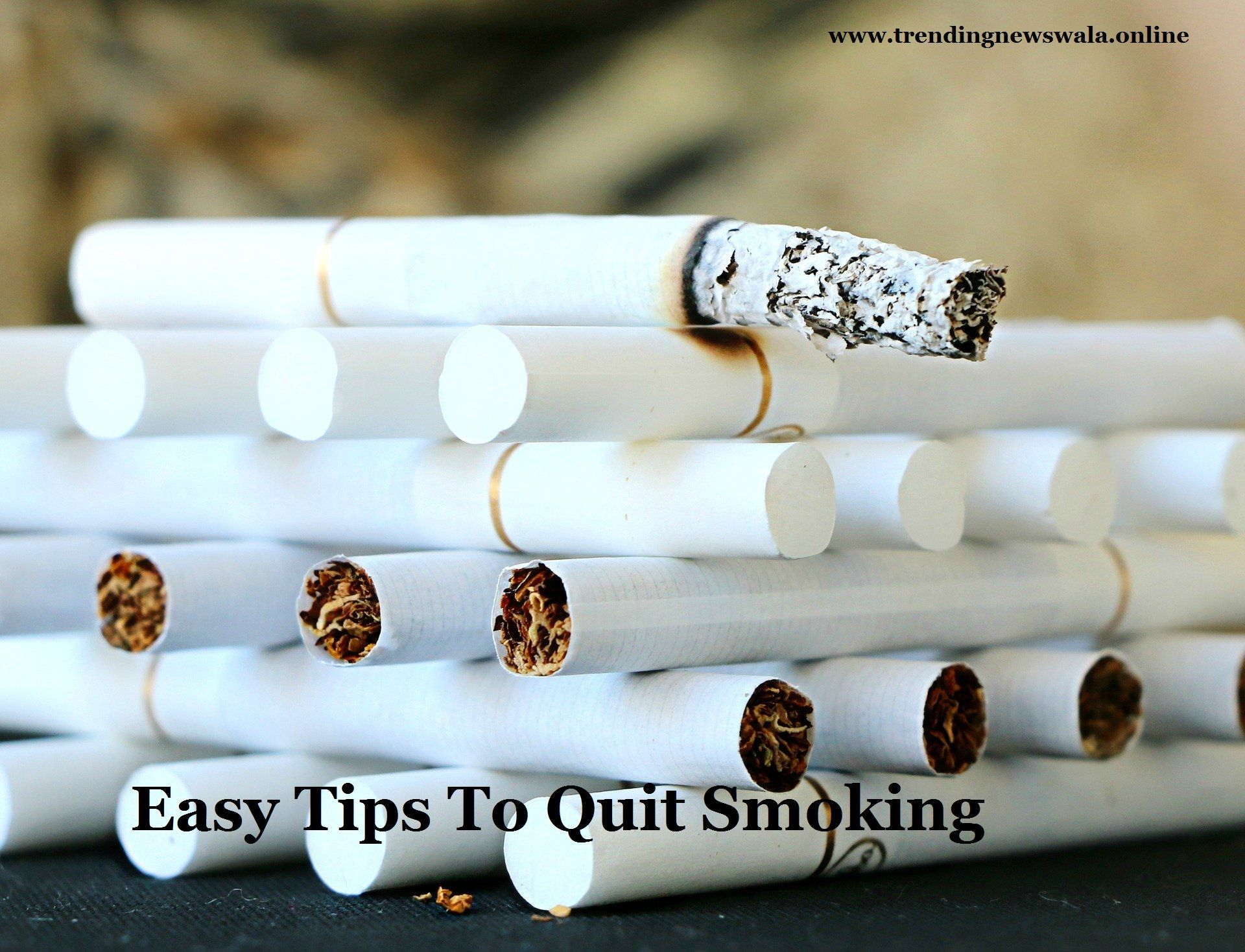 How to Stop Smoking Easy Tips